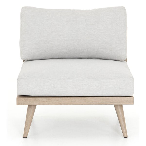 Franko Tilly Teak Patio Chair with Cushions by Bungalow Rose