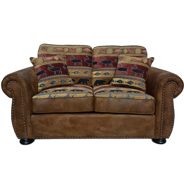 Valuable Today Lecuyer Loveseat by Millwood Pines by Millwood Pines