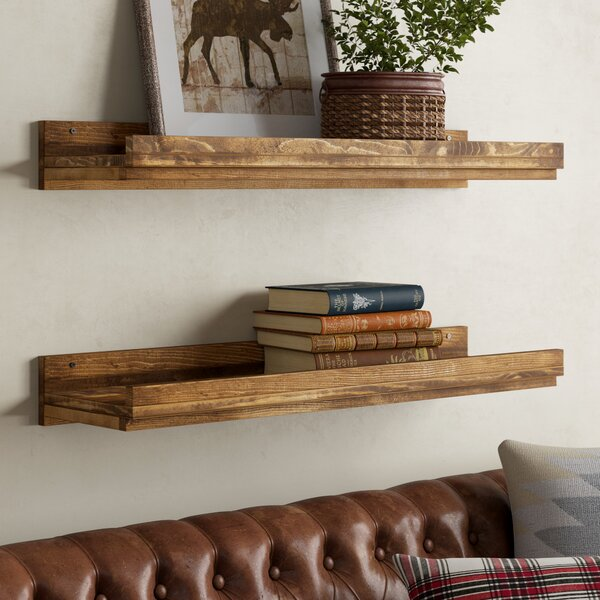 Oconner Floating Shelf (Set of 2) by Union Rustic