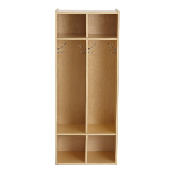 Birch Streamline 2 Section Coat Locker by ECR4kids