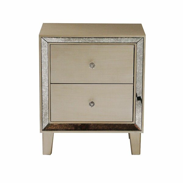 Tommen 2 Drawer Nightstand by House of Hampton
