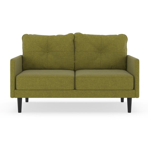 Cowan Cross Weave Loveseat by Corrigan Studio