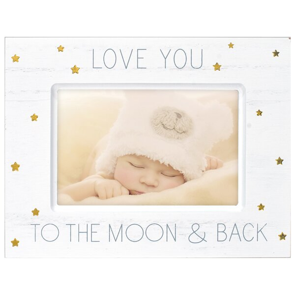 Love You To The Moon Picture Frame by Malden