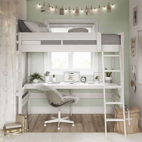 Alfred Twin Loft Bed by Viv + Rae
