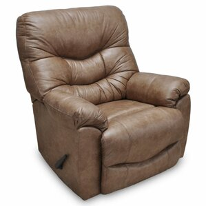 Eugenie Rocker Leather Recliner by Red Barrel Studio