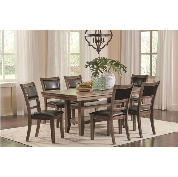 Yelverton 7 Piece Dining Set by Alcott Hill