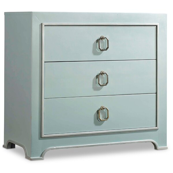 Melange Lia 3 Drawer Chest by Hooker Furniture