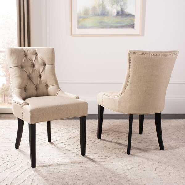 Looking for Reynesford Upholstered Dining Chair (Set Of 2) By Charlton Home Herry Up