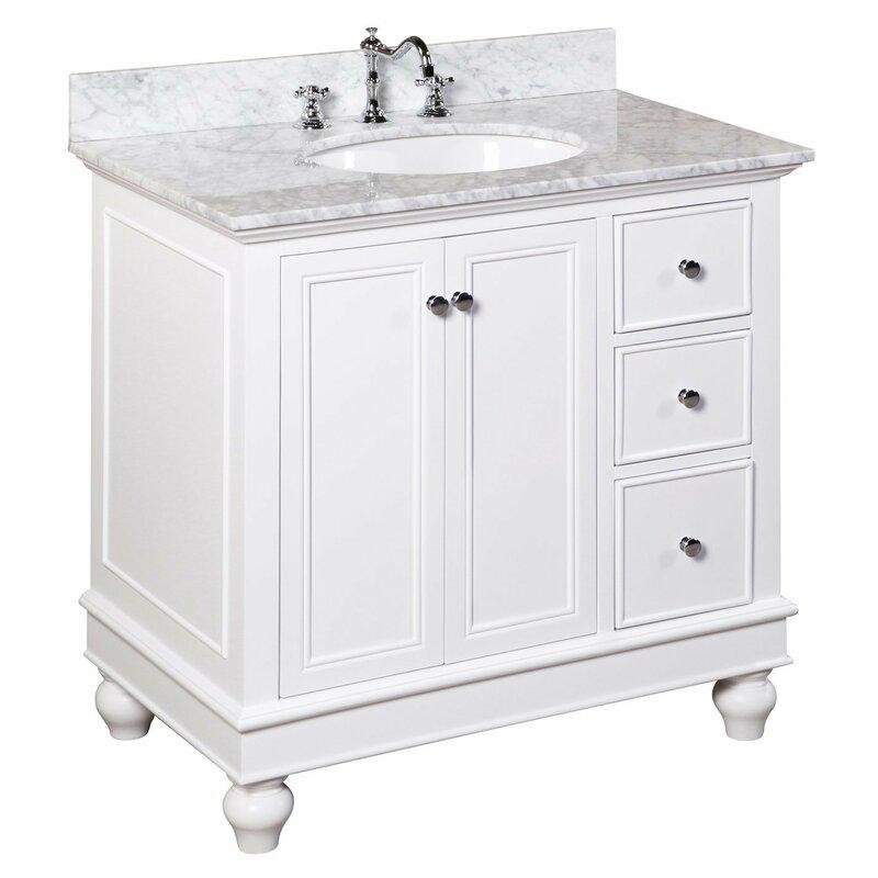 36 Bathroom Vanity   Kbc Bella 36 Single Bathroom Vanity Set Reviews Wayfair
