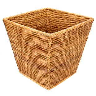 Rattan Waste Basket by artifacts trading
