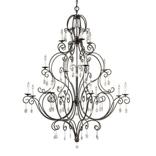 Compare & Buy Esse 16-Light Chandelier By House of Hampton