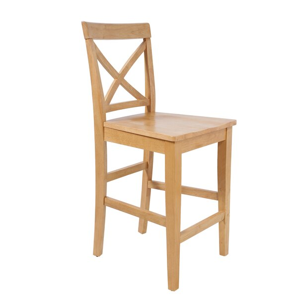 Guion Modern Solid Wood Dining Chair by Rosecliff Heights