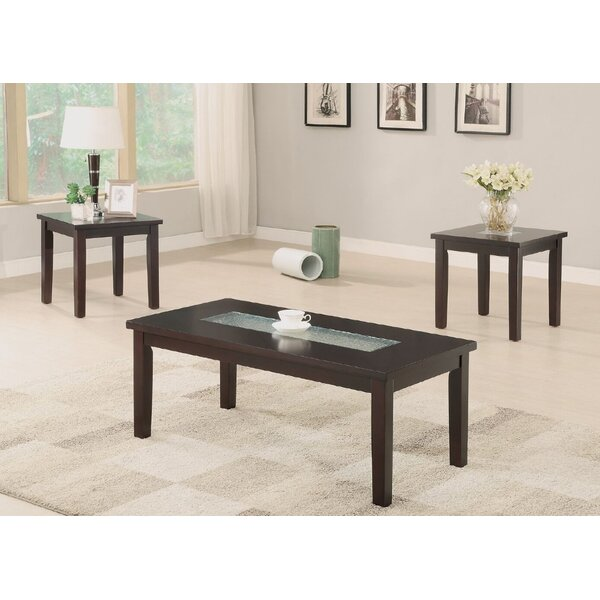 Foley 3 Piece Coffee Table Set by A&J Homes Studio