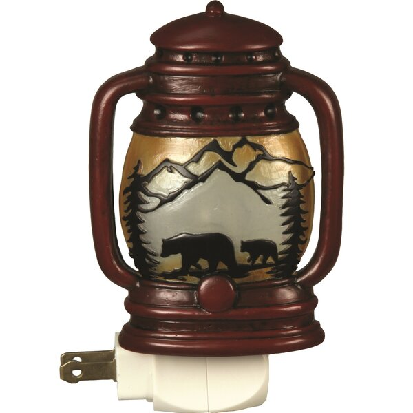Automatic Lantern Night Light by River's Edge Products