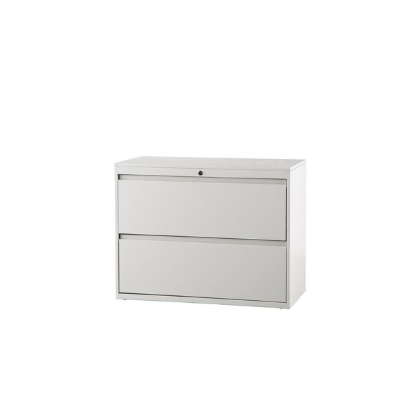 2-Drawer Lateral Filing Cabinet by Trendway