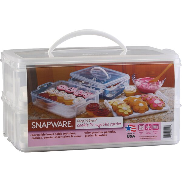 2 Layer Cupcake Keeper Food Storage Container by Snapware