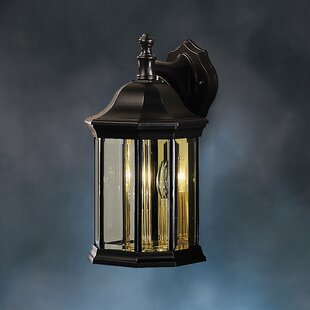 Compare Bayou 3-Light Outdoor Wall Lantern By Three Posts