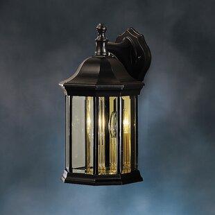 Best Bayou 3-Light Outdoor Wall Lantern By Three Posts