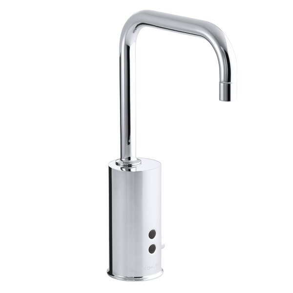 Gooseneck Single-Hole Touchless Ac-Powered Commercial Faucet with Insight Technology by Kohler