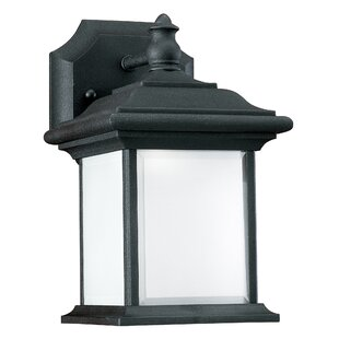 Look for Tortez 1-Light Outdoor Wall Lantern By Astoria Grand