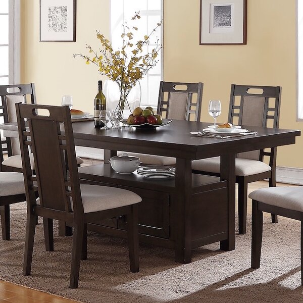 Nika 7 Piece Dining Set by Winston Porter