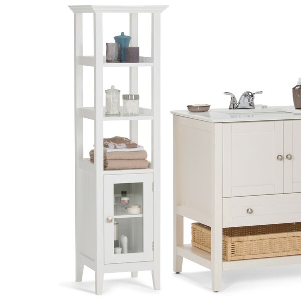 Acadian 15.75 W x 56.1 H Linen Tower by Simpli Home