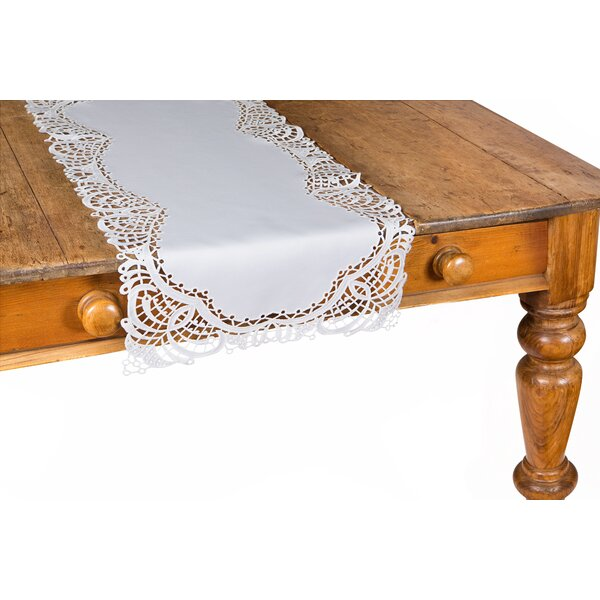 Dainty Lace Table Runner by Xia Home Fashions