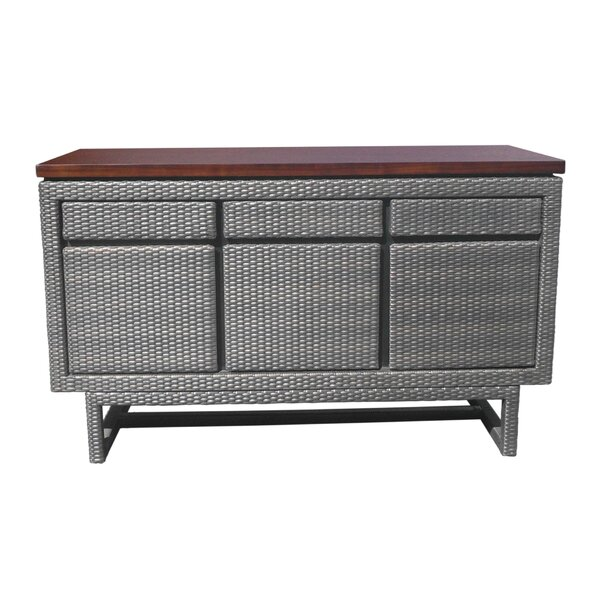 Shaughnessy Wooded Top 3 Drawer Buffet Table by Ivy Bronx Ivy Bronx