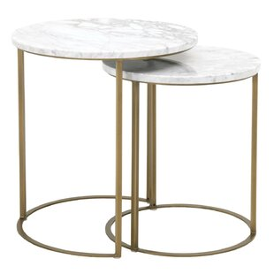 Fishponds 2 Piece Nesting Tables By Everly Quinn