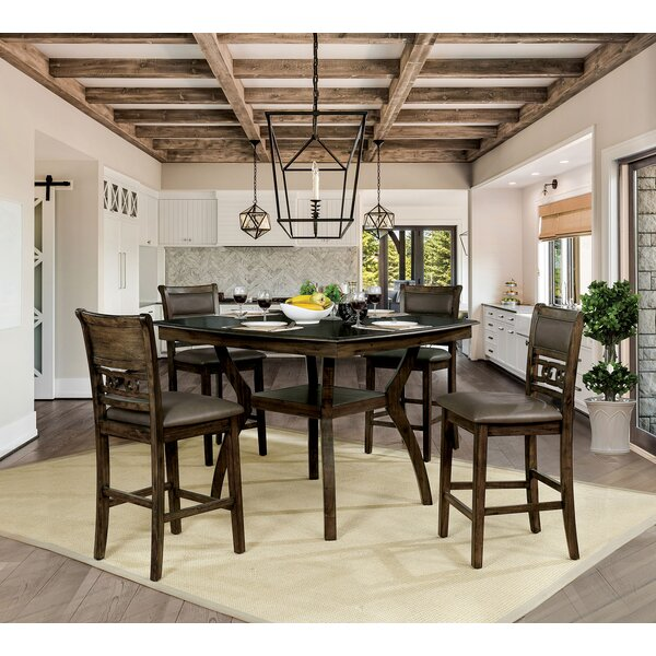Orben 5 Piece Pub Table set by Loon Peak