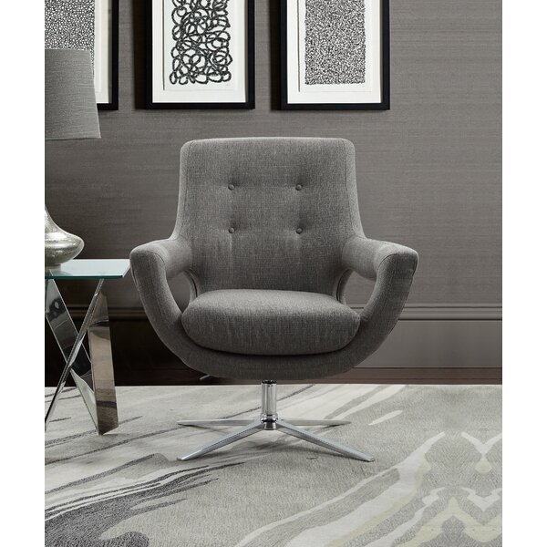 Humiston Swivel Armchair by Orren Ellis