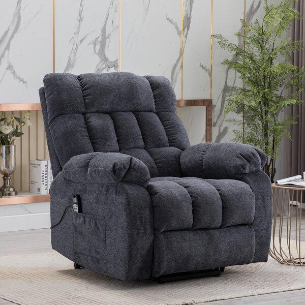 Power Reclining Heated Massage Chair (Set of 2) W003498600