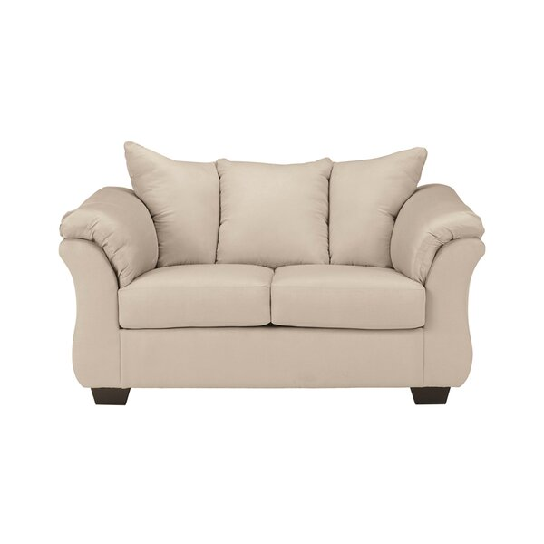 Cynthia Leather Loveseat by Red Barrel Studio