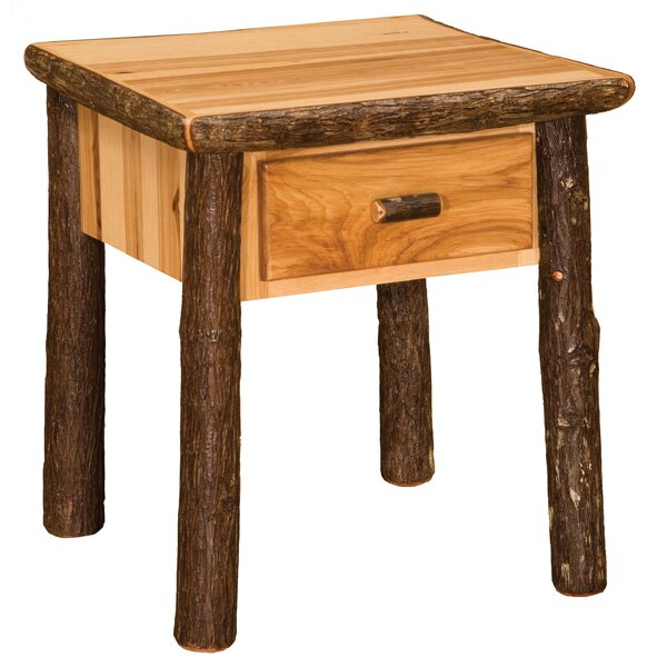 Cleary 1 Drawer Nightstand by Loon Peak Loon Peak