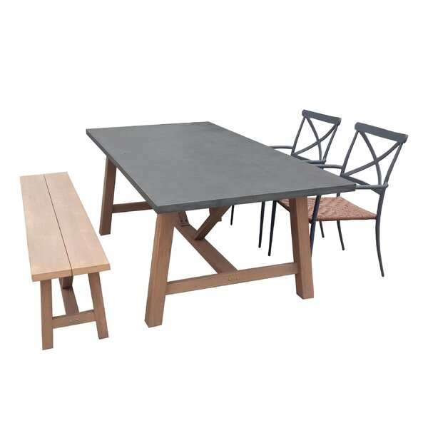 Valles 4 Piece Dining Set by Gracie Oaks