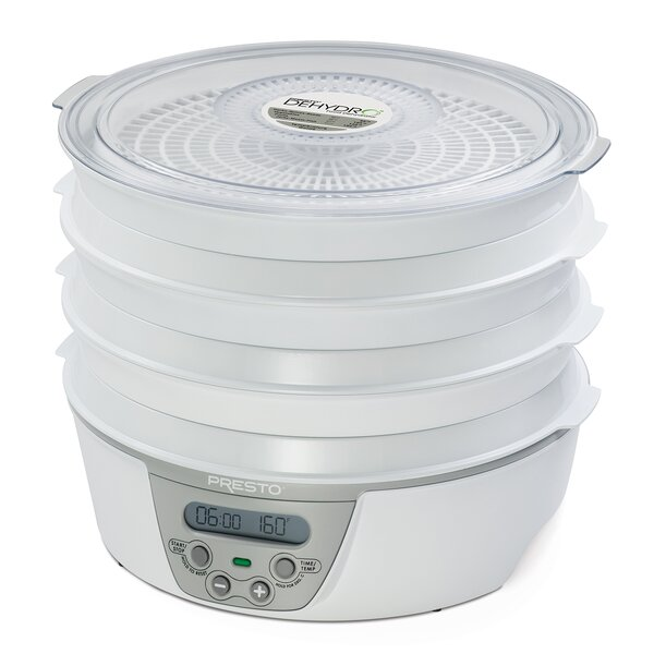 Dehydro 6 Tray Digital Food Dehydrator by Presto