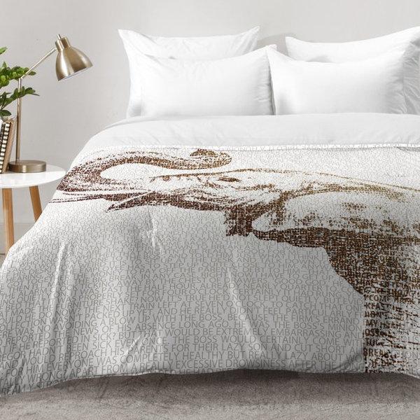 The Wisest Elephant Comforter Set