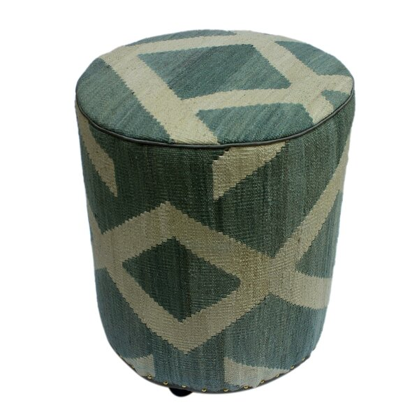 Ridgeville Kilim Ottoman by World Menagerie