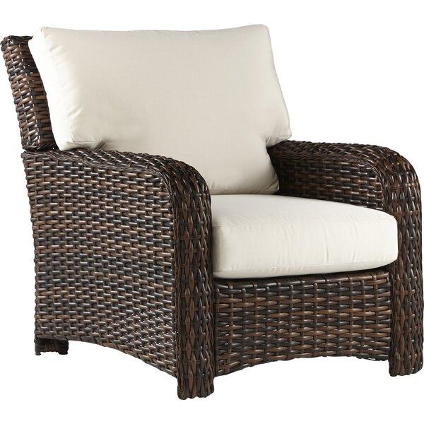Chorio Patio Chair with Cushions by Bay Isle Home