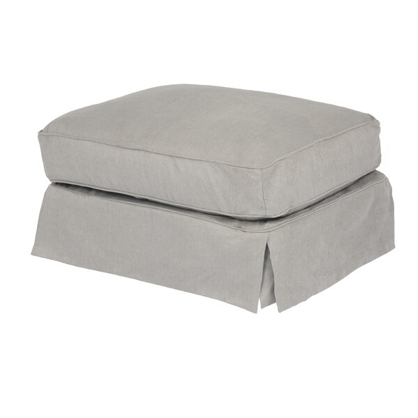 Elsberry Ottoman by Darby Home Co