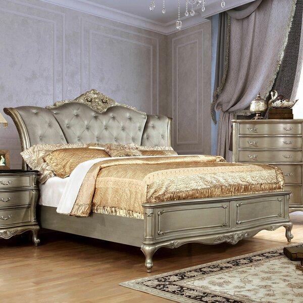 Henderson Upholstered Platform Bed by A&J Homes Studio