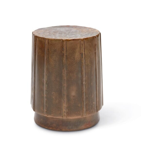 Tsukiji Accent Stool by Bloomsbury Market