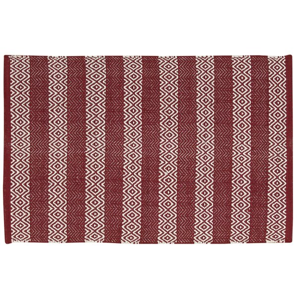 Arapaho Red Area Rug by Bungalow Rose