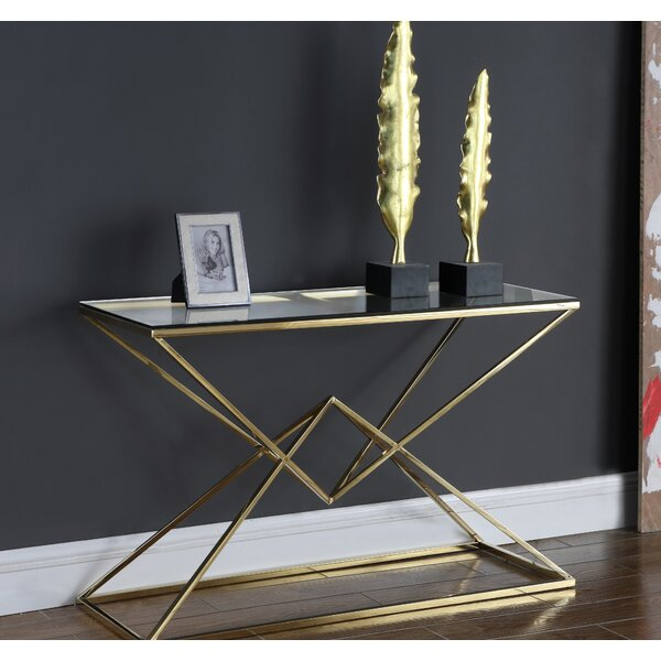 Jhoana Console Table by Orren Ellis