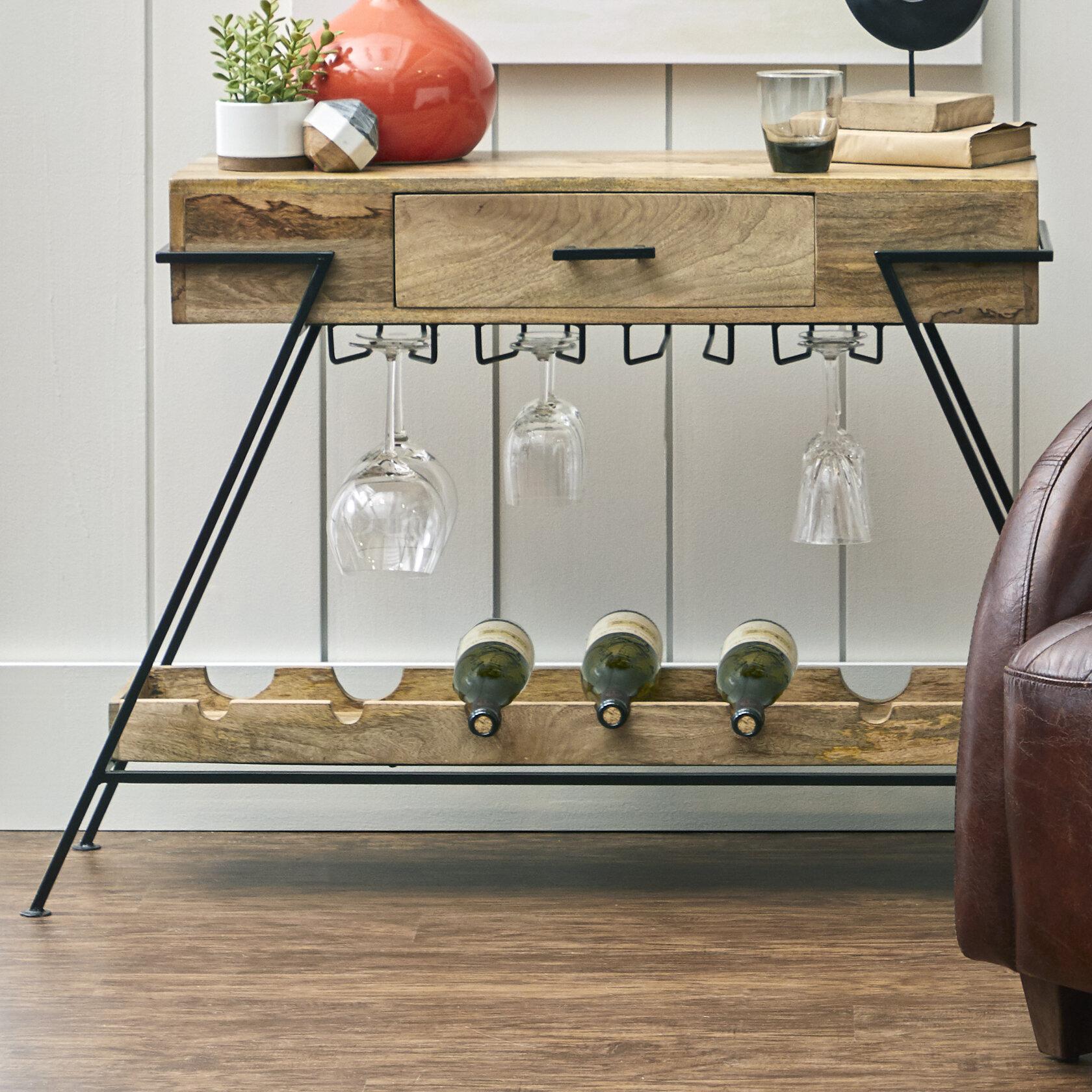 Waleska Minimalist Wood And Metal 7