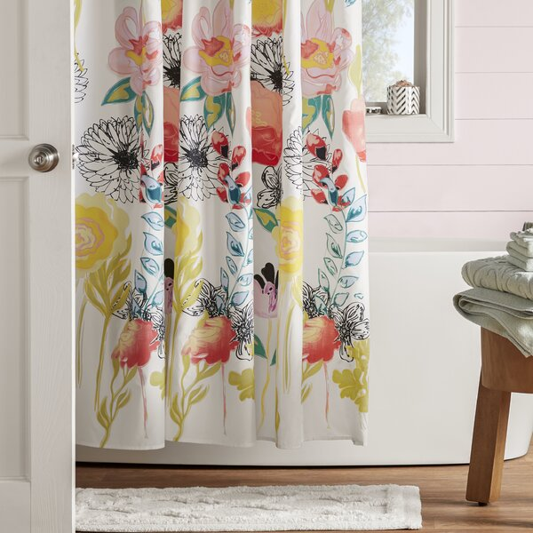 Briaroaks Shower Curtain By Bungalow Rose.