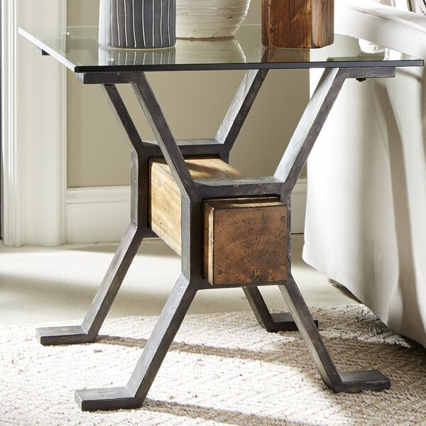 Cardona End Table by Williston Forge