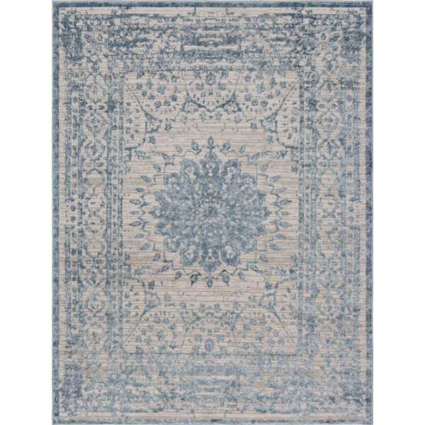 Delarosa Light Blue Area Rug by Bungalow Rose