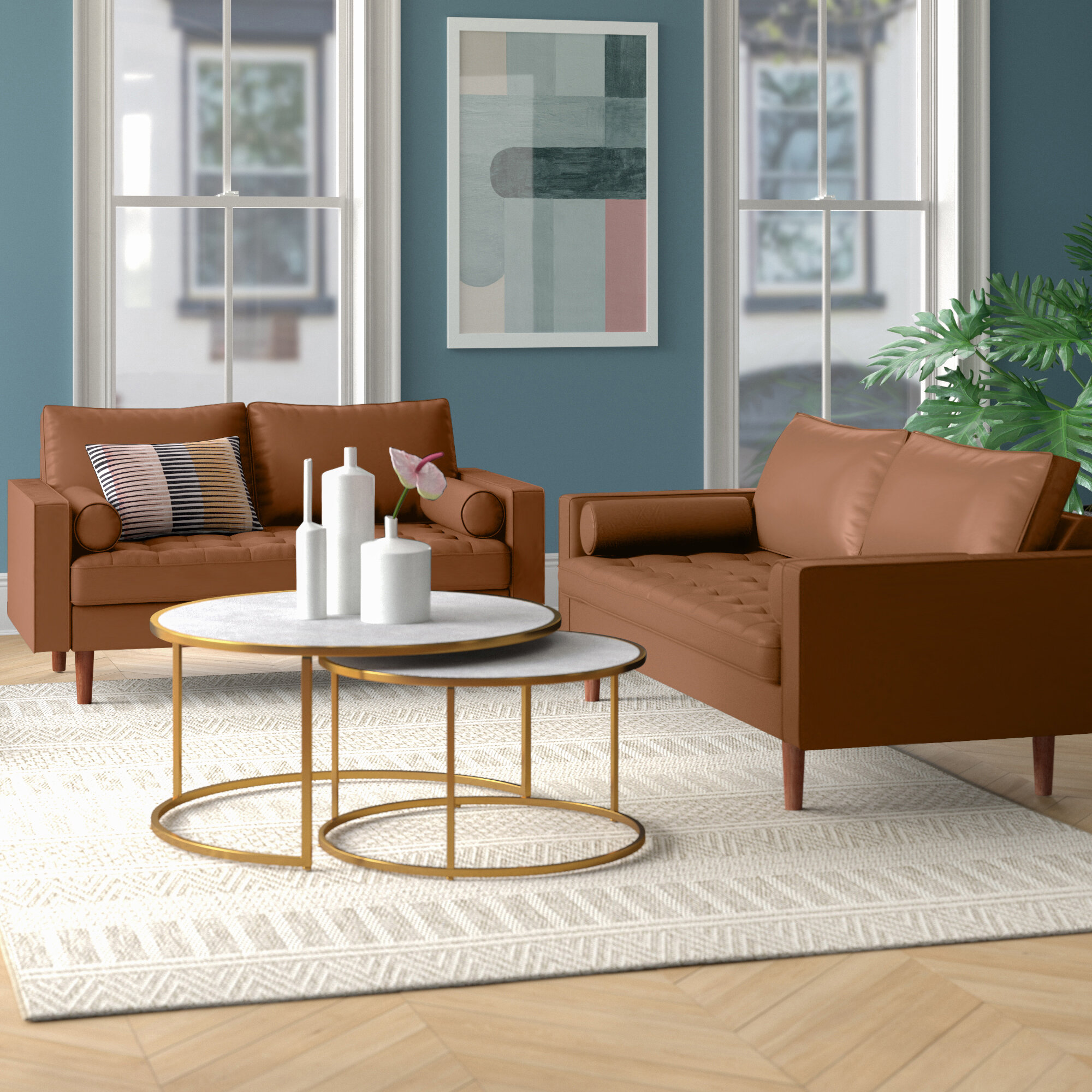 Lincoln 2 Piece Living Room Set