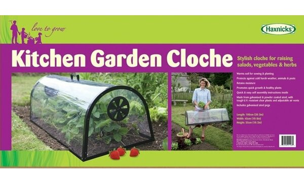 Haxnicks 1.67 Ft. W x 3.25 Ft. D Mini Greenhouse by Tierra Garden